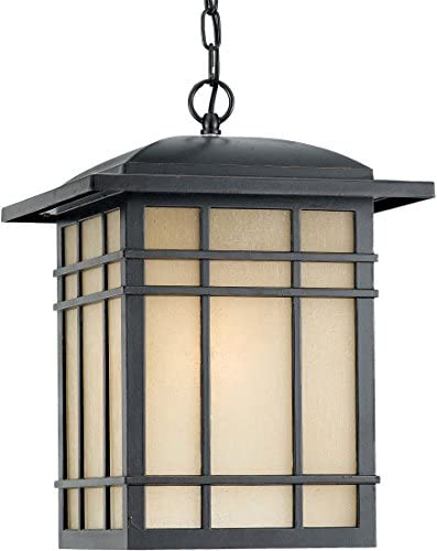 Quoizel HC1913IB Hillcrest Outdoor Lantern Mission Pendant Lighting, 1-Light, 150 Watts, Imperial Bronze 18 H x 13 W