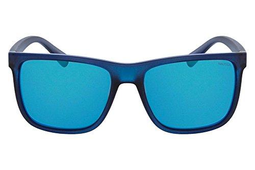 Nautica N3623Sp 420 58 Gafas de sol, Matte Navy, Hombre ...