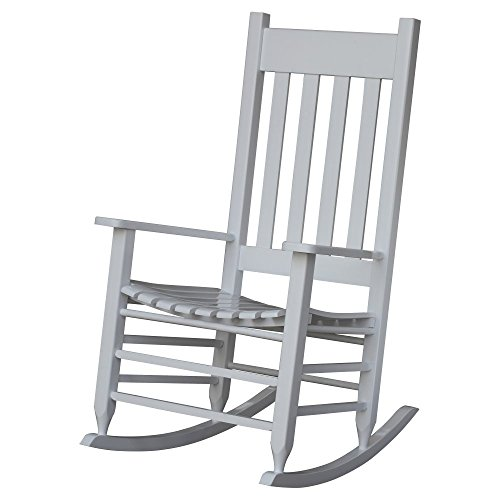 Hinkle Chair Company Painted Plantation Rocking Chair, White
