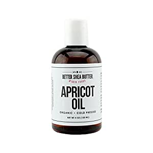 Organic Apricot Oil by Better Shea Butter - 4 oz