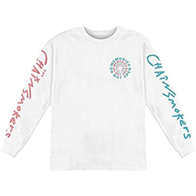 Chainsmokers Men's Do Not Open Long Sleeve White