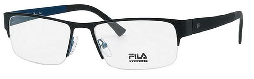Fila Glasses Men VF9657 08K5 Black Full Frame