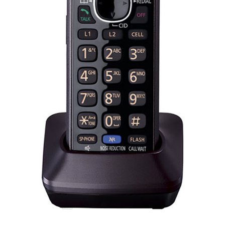 Panasonic KX-TG9552B + (4) KX-TGA950B Link2Cell Bluetooth Enabled 2-Line Phone with Answering Machine (6 Handset) by Panasonic (Image #2)