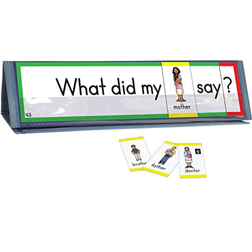 Really Good Stuff Sight Word Sentence Builders: Dolch Primer Word Cards & Desktop Tents Kit