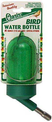 Kordon Oasis #81010 Bird Bottle for Small Caged Birds -Green, 4-Ounce ()