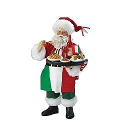 Kurt Adler Musical Fabriche Italian Santa Figurine,...