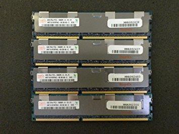 16GB (4X4GB) DDR3 MEMORY FOR IBM System X3200 M3, X3250 M3, X3550 M3 (System 240 Pin Ibm)
