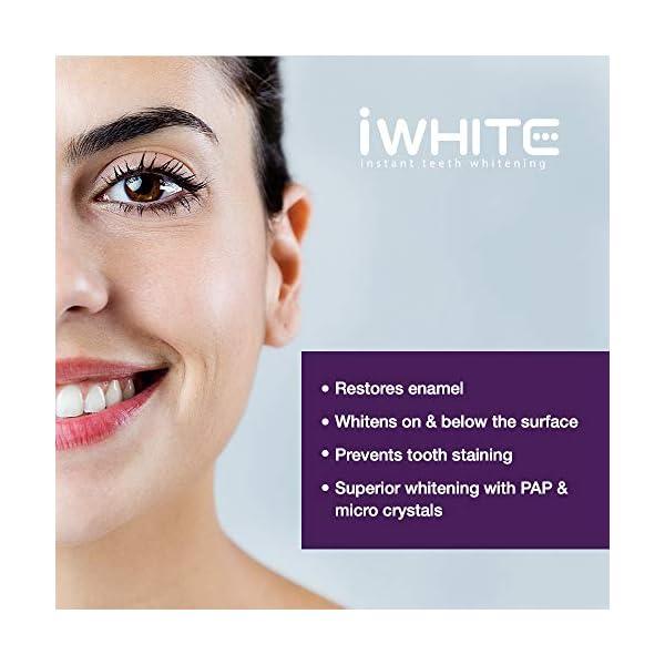 Pasta dental blanqueadora iWhite Instant - Blanqueamiento dental activo - Restauración del esmalte - Remineralización… 4