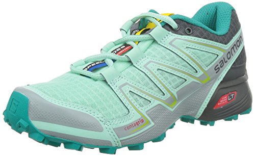 SalomonSpeedcross Vario - Zapatillas de Running para Asfalto Mujer Turquoise - Iglo Blue/Dark Cloud/Light Onix