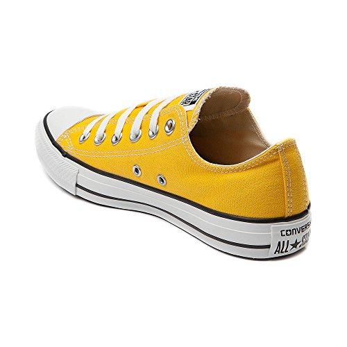 Converse Chuck Tayor All Star Lo Sneaker (uomo 6 / Donna 8, Giallo)