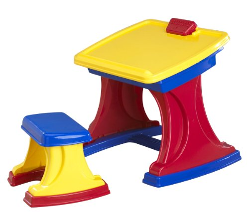 025217125308 - American Plastic Toy My Very Own Desk and Easel carousel main 0