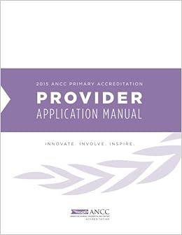 2015 ancc primary accreditation provider manual american nurses