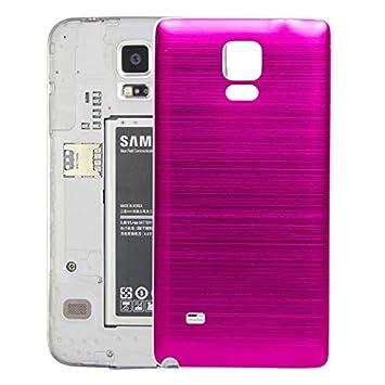 XIXI Phone Tapa Trasera con Textura cepillada de Borde ...