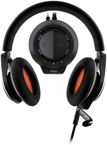 Amazon Com Plantronics Rig Stereo Gaming Headset With Mixer For Pc Mac Retail Packaging Black Computers Accessories