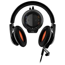 Plantronics RIG Stereo Gaming Headset with Mixer for Xbox 360 and PS3 - Retail Packaging - Black