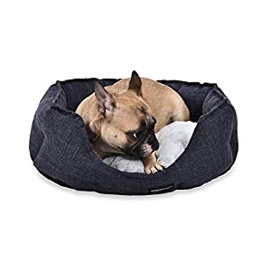 Amazon Basics Round Cuddler Bolster Pet Bed