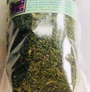Blue Violet leaf ~ Dried Viola Odorata ~ 1 oz Dried herb ~ Ravenz Roost dried herb