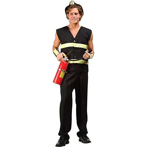 Men's Sexy Fireman Costume (Size:Small 32-34) (Mens Sexy Firefighter Costume)