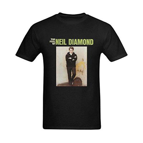 ReaGuo Men's Neil Diamond Rock T-shirt