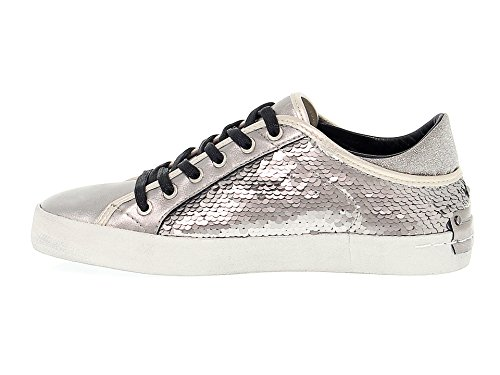Sneakers mit Damen Silber 25035A1734 London Crime 1PxEwqBvn