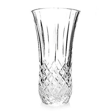 Marquis By Waterford Crystal Daffodil Vase Clear 12 Inch Ideal