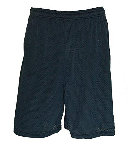 (Wilson Men's Mesh No Pocket Athletic Shorts Navy XXLarge)