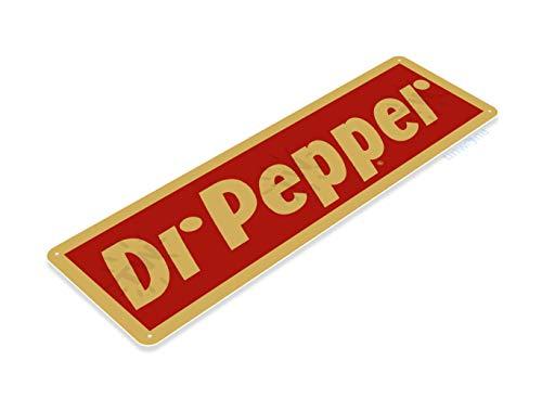 Tinworld Tin Sign Dr. Pepper Retro Soda Cola Metal Sign Decor Bar Store Kitchen Cottage Farm A057