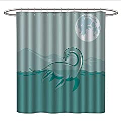 Add some classic style to your bathroom with the iDesign Leaves shower curtain! This fast-drying 100% polyester shower curtain is of high quality and will be used in the next few years. Beautiful blue and white leaf patterns easily match any ...