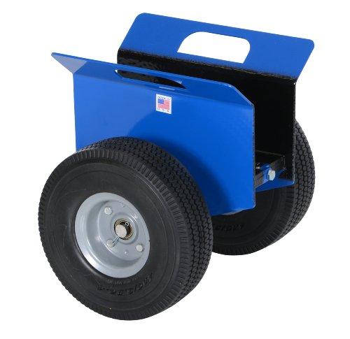 Vestil PLDL-HD-4 Steel Plate and Slab Dolly with Foam Wheels, 500 lbs Load Capacity, 14-1/4