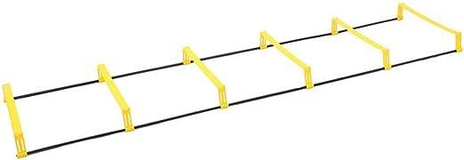 QHGao Escalera De Velocidad Y Agilidad Multifunción De Doble Uso, Fútbol Y Todos Los Ejercicios De Entrenamiento De Velocidad Deportiva, Incluidas Las Escaleras con Bolsas De Transporte: Amazon.es: Hogar