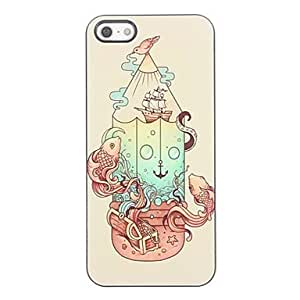 ZXSPACE iPhone 5/iPhone 5S compatible Graphic/Special Design/Novelty Back Cover