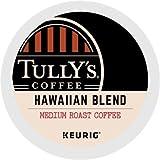 Tully's Coffee K-Cups, Hawaiian Blend, Keurig Single-Serve K-Cup Pods, Medium Roast Coffee, 96 Count