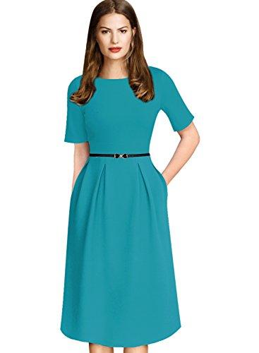 casual a line summer dresses - 4