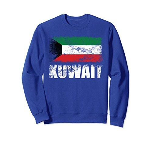 Unisex Kuwait Flag Sweatshirt | Kuwaiti Flag Sweater Medium Royal Blue