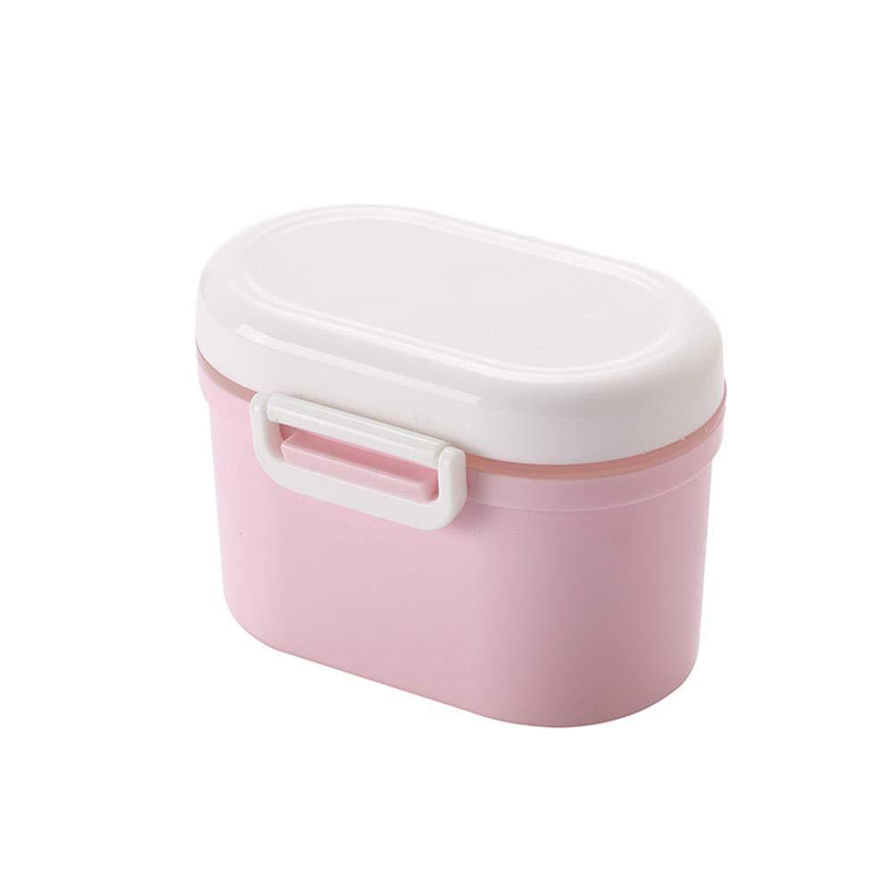 Rose geeignet f/ür Kleinkinder und Kinder Aufbewahrungsbeh/älter S Baby Out Milchpulver Obst Fr/üchte FOONEE Tragbare Milchpulverbox Snap-on versiegelte Box