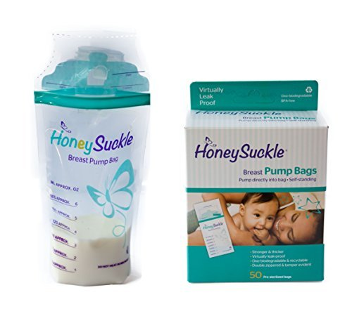 Honeysuckle Breast Pump Bags 100ct.