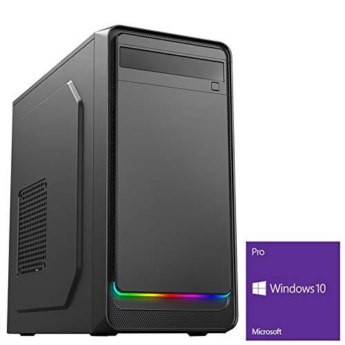 OCHW Home ARGB Ultra Fast Gaming PC AMD A8 9600 Quad Core 4.20GHz ATI Radeon HD R7 Graphics 8GB DDR4 2400MHz 1TB Hard…
