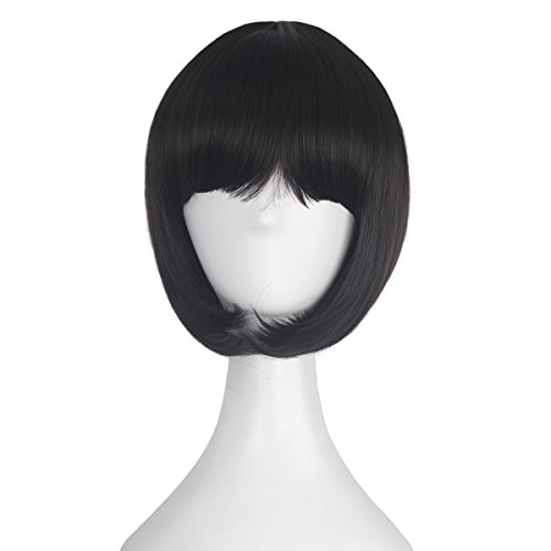 Girl's Short Straight Bob Style Hair Harajuku Lolita Punk Wig Anime Cosplay Costume Wig Party Halloween -
