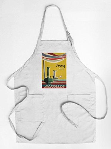 alitalia-iraq-vintage-poster-artist-molinari-italy-c-1955-quality-cotton-polyester-chefs-apron