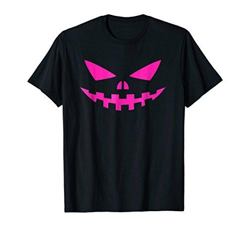 Jack-O-Lantern Scary Halloween Pumpkin Face Funny T Shirt