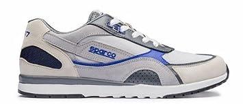 Sparco 00126241SIAZ Zapatillas Plata/azul