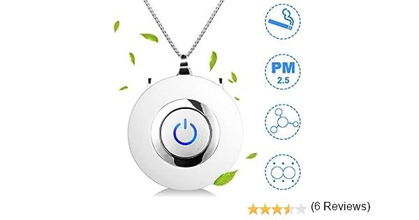Eva zzy - Purificador de Aire portátil con USB, Mini Collar de ...
