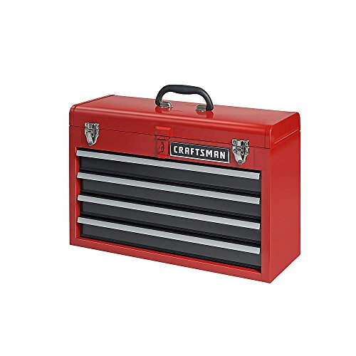 New 4 Drawer Craftsman Portable Metal Box Steel Mechanic Tool Chest Toolbox - Near Shopping Denver