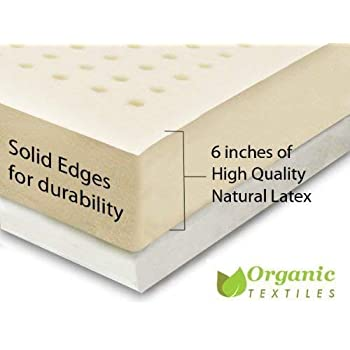 Amazon Com Organictextiles 100 Natural Latex Mattress