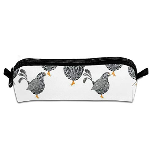 Fabric Chick Chicken Rooster Fabric Chick Chick Chickens By Fabric Chicken Wire Free Fabric Chicken Pincushion Patterns Student Pencil Pen Case Zipper Pouch Small Cosmetic Makeup Bag Coin Purse For Ki