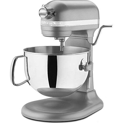 KitchenAid RKP26M1XCU PRO600 Stand Mixer Continental – Silver (Certified Refurbished)