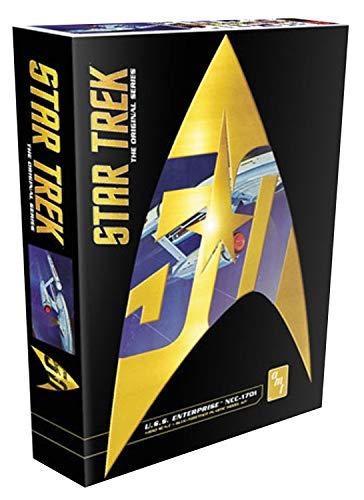 AMT 947 Star Trek U.S.S. Enterprise NCC-1701 1:650 Scale Plastic Model Space Ship Kit - Requires Assembly