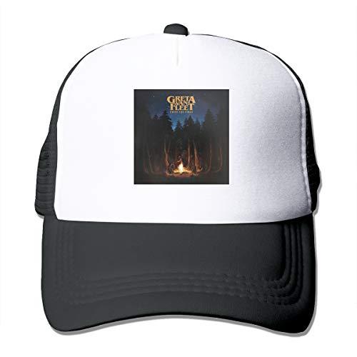 DonaldKAlford Greta Van Fleet from The Fires Adjustable Hat Comfortable Unisex Casual Baseball Cap,Sun Hat,Truck Hat -