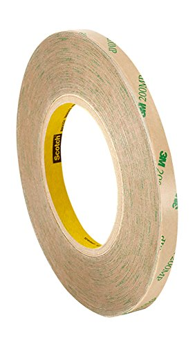 (3M 9495MP Adhesive Transfer Tape - 0.25 in. x 180 ft. Polyester Film Tape Roll with Shear Strength, Solvent Resistance. Bonding and Sealing Tapes)