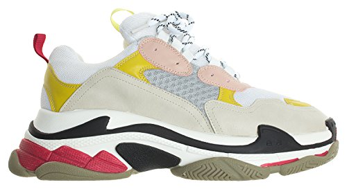Annakastle Dame Farve Accent Lave Top High-fashion Sneaker Trænere Lyserød + Beige tpgNd45
